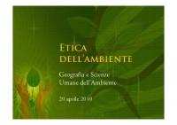 2009-2010-Environmental Ethics