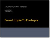 2010-2011-From Utopia to Ecotopia