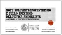 2013-2014-Posthuman and Anti-speciesism
